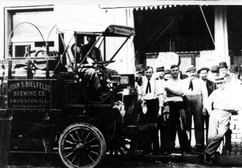 First delivery truck